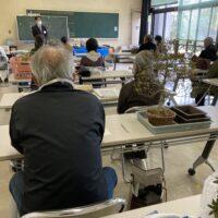 成人学校盆栽講座「悠々BONSAI」開校